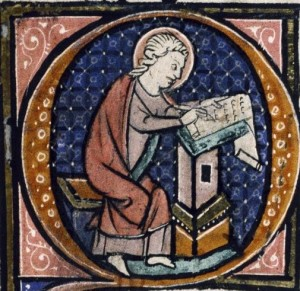 monk illustrating